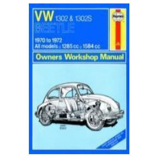 Biblioteka motoryzacji, 99521Volkswagen Beetle 1302 and 1302S (70 - 72) up to L Classic Reprint