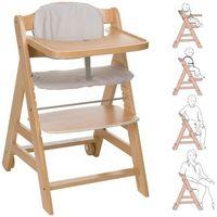Krzesełka do karmienia, HAUCK Krzesełko do karmienia Beta kolor naturalny