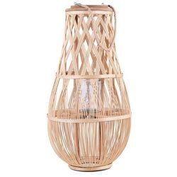 Lampion jasne drewno 56 cm TONGA