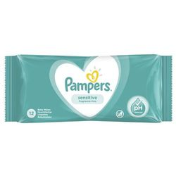 Chusteczki Pampers Sensitive SMP 12- natychmiastowa wysyłka, ponad 4000 punktów odbioru!