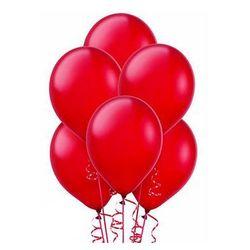 Balony lateksowe duże - 12 cali - czerwone - 25 szt.