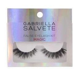 Gabriella Salvete False Eyelashes zestaw Sztuczne rzęsy 1 para + Klej do rzęs 1 g dla kobiet Magic