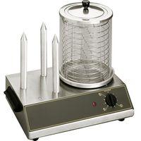 Pozostała gastronomia, Urządzenie do hot-dogów, 0,65 kW, 440x300x400 mm   ROLLER GRILL, 777290