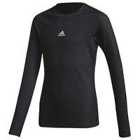 Pozostała odzież sportowa, Koszulka Termoaktywna adidas Alphaskin LS Tee JUNIOR czarna CW7324