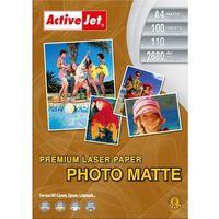 Papiery fotograficzne, Activejet papier fotograficzny matowy (P4-110M100L) Darmowy odbiór w 20 miastach!