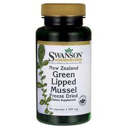 Swanson Nowozelandzka liofilizowana zielona małża 500mg 60 kaps.