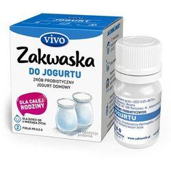 Jogurt domowy VIVO żywe kultury bakterii opakowanie 2 x 0,5g ZAKWASKI VIVO