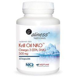 Aliness Krill Oil NKO 500 mg 60 kaps - suplement diety