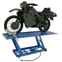 Podnośnik motocyklowy hydrauliczno – pneumatyczny trapezowy 450 kg
