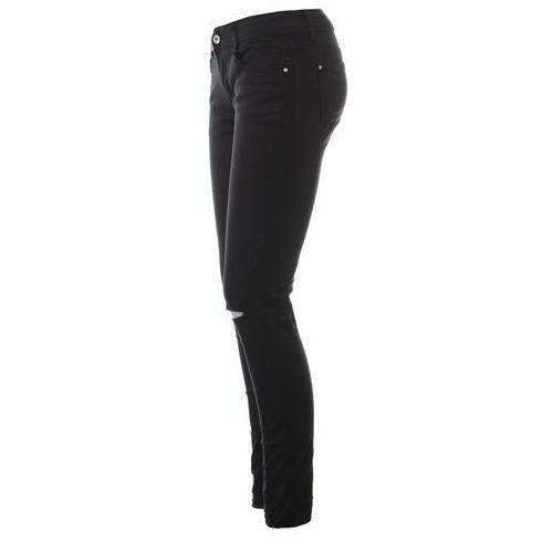 Spodnie damskie, Damskie Spodnie Jeany Czarne