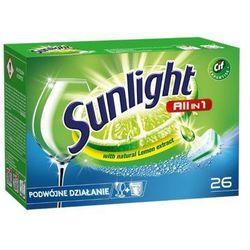 SUNLIGHT 26szt All in 1 Regular Double action Tabletki do zmywarek z ekstraktem z cytryny