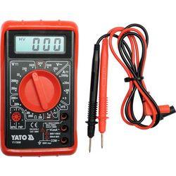 Multimetr/miernik cyfrowy, buzer / YT-73080 / YATO - ZYSKAJ RABAT 30 ZŁ