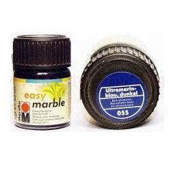 Farba do marmurkowania Easy Marble Marabu 15 ml - 055 Ultramarinblau