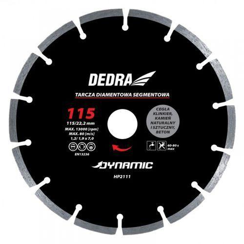 Pozostałe akcesoria do narzędzi, Tarcza segmentowa DEDRA HP2114 Dynamic 180 mm /22.2