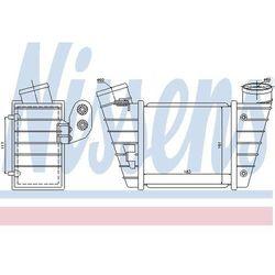 Chłodnica powietrza doładowującego - intercooler NISSENS 96746