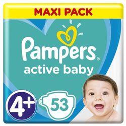 Pampers pieluchy ABD Maxi Pack S4+ 53szt- natychmiastowa wysyłka, ponad 4000 punktów odbioru!
