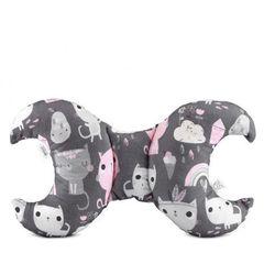 Maylily poduszka antywstrząsowa - Luna, Różowe kotki