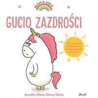 Książki dla dzieci, Uczucia Gucia. Gucio zazdrości (opr. twarda)