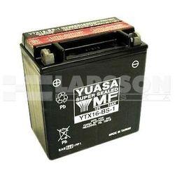 Akumulator bezobsługowy YUASA FTH16-BS-1 (YTX16-BS-1) 1110252 Suzuki VS 1400, LT-F 500,