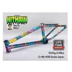 "Rama BMX Mafiabikes Hitmain 20.8"" Splatter Fuel"