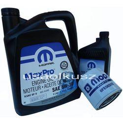 Oryginalny MOPAR filtr oraz mineralny olej 5W30 Dodge Dakota 4,7 V8 -2008