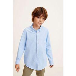 Mango Kids - Koszula dziecięca Oxford 110-164 cm