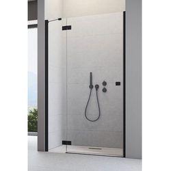Drzwi wnękowe Radaway Essenza New Black DWJ prawe 90 cm, szkło przejrzyste wys. 200 cm, 385013-54-01L