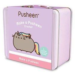 Pusheen - Zestaw do szydełkowania w metalowym pudełku