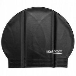 Czepek pływacki lateksowy Aqua Speed czarny