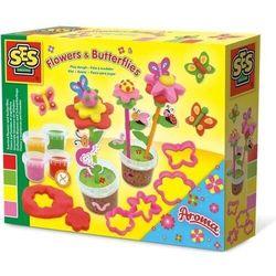 Zapachowa ciastolina - kwiatki i motyle
