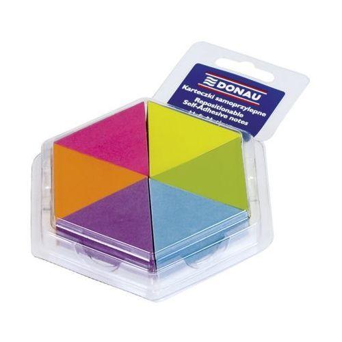 Pozostałe artykuły papiernicze, Bloczek samoprzylepny trójkąt neon 6 kolorów