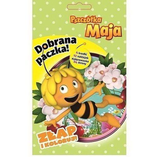 Książki dla dzieci, Dobrana Paczka Złap I Koloruj Pszczółka Maja Praca zbiorowa (opr. broszurowa)