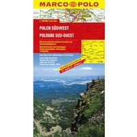 Mapy i atlasy turystyczne, Polska Południowo-Zachodnia. Mapa Marco Polo 1:300 000 (opr. broszurowa)