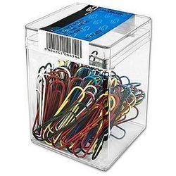 Spinacze kolorowe 50mm E&D Plastic 100szt. 679