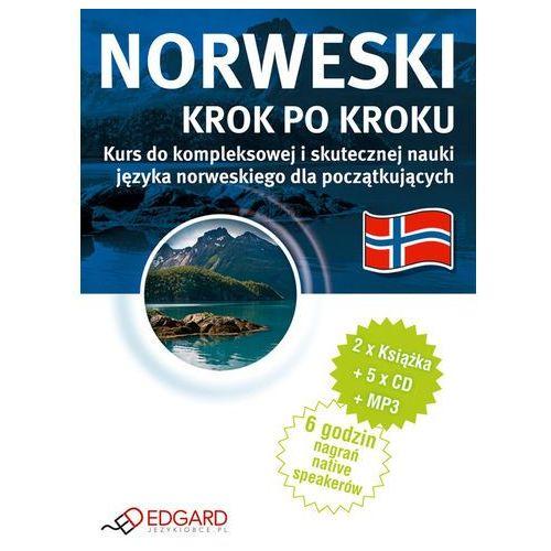 Książki do nauki języka, Norweski Krok Po Kroku (2 Książki + 5 Cd + Mp3) (opr. twarda)