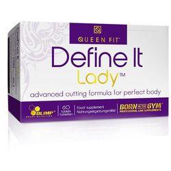 Spalacz tłuszczu dla kobiet Define It Lady 60tabs
