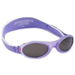 Okulary przeciwsłoneczne dzieci 2-5lat UV400 BANZ - Lilac Spring Flower