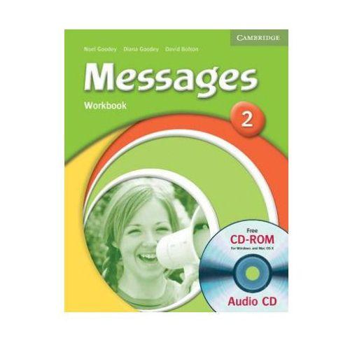 Książki do nauki języka, Messages, Level 2, Workbook (zeszyt ćwiczeń) with Audio CD (opr. miękka)