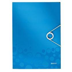 Teczka z gumką Leitz Wow A4 4599-36 niebieska