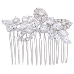 CZ by Kenneth Jay Lane MULTI CLIP Hair Styling Accessory silvercoloured
