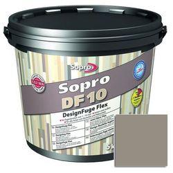 Fuga szeroka Sopro Flex DF10 Design 18 piasek szary 5 kg