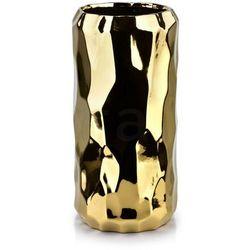 BABETTE GOLD Wazon 13,5x13,5xh26,5cm