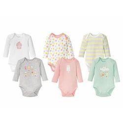 LUPILU® Body niemowlęce dziewczęce z długim ręka