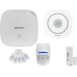 ZA12650 Bezprzewodowy system alarmowy GSM 4G 1 czujki ruchu HIKVISION z sygnalizatorem