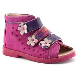 Dziecięce buty profilaktyczne Dawid 1042 - Fuksja