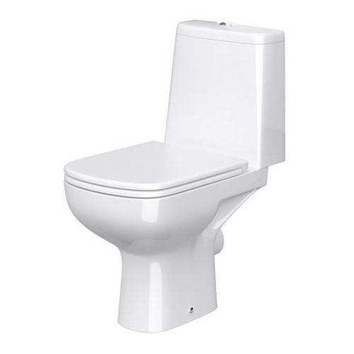 Kompakt WC Cersanit Seno Rimless z deską wolnoopadającą