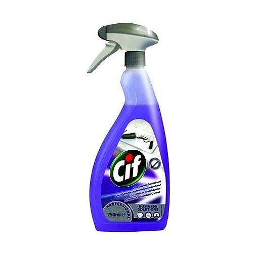 Pozostałe środki czyszczące, Środek czyszczący Cif Professional 2 in 1 Cleaner Disinfectant 750ml