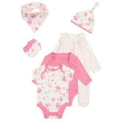 mothercare GIRLS WELL BEING GIFT SET BABY Chusta pastels multi