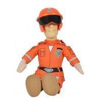 Figurki i postacie, STRAZAK SAM Miękkie figurki, 25 cm Sam pomarańczowy