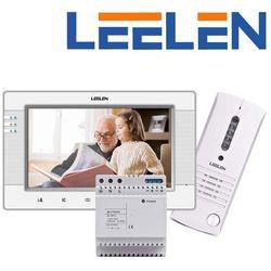 Leelen LEELEN Wideodomofon 7cali JB305_V34/No9/DIN (natynkowy) JB305_V34_No9_DIN - Autoryzowany partner Leelen, Automatyczne rabaty.